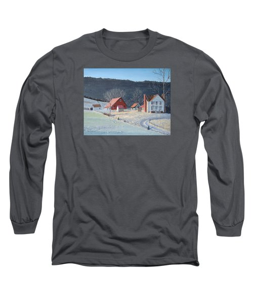 In The Winter Of My Life Long Sleeve T-Shirt by Norm Starks