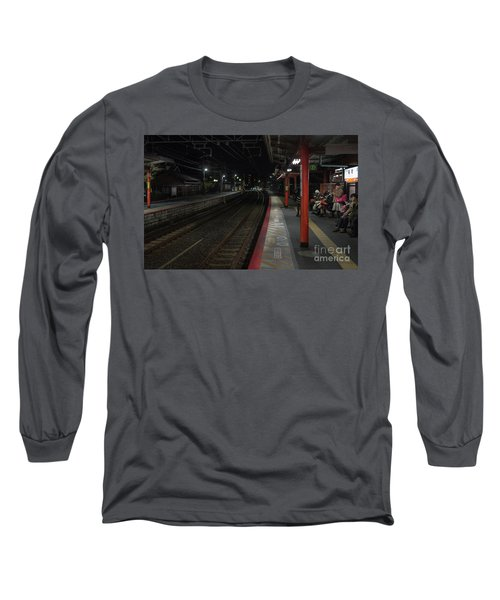 Inari Station, Kyoto Japan Long Sleeve T-Shirt