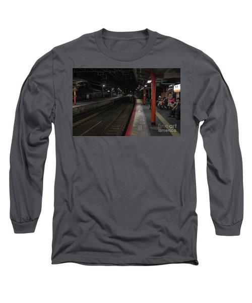 Inari Station, Kyoto Japan Long Sleeve T-Shirt
