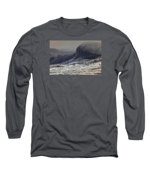 Incoming Long Sleeve T-Shirt by Mark Alder