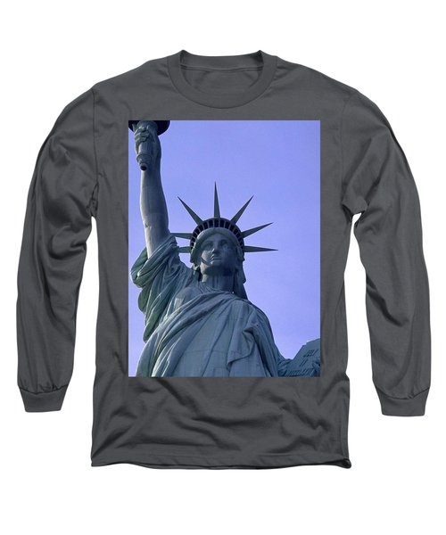 Long Sleeve T-Shirt featuring the photograph Independence Day Usa by Travel Pics