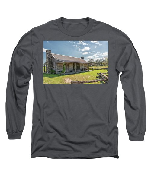 Independence Texas Cabin Long Sleeve T-Shirt