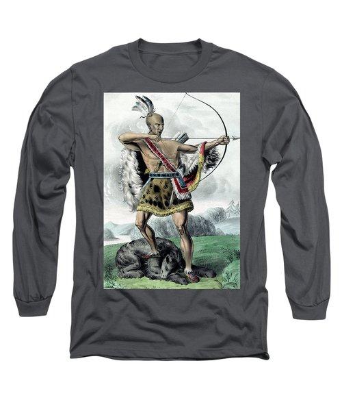 Indian Hunter - Remastered Long Sleeve T-Shirt