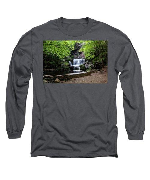 Indian Ladder Falls Long Sleeve T-Shirt