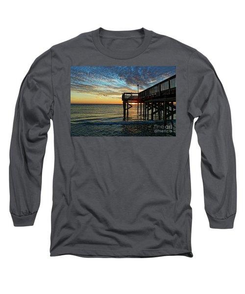 Indian Rocks Sunset Long Sleeve T-Shirt by Paul Mashburn