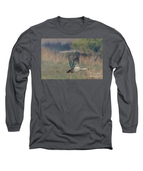 Indian Spot-billed Duck 03 Long Sleeve T-Shirt