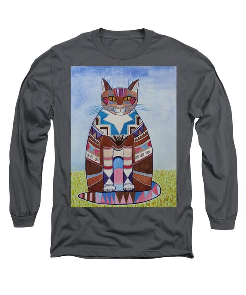 Indian Squirrel Cat Long Sleeve T-Shirt