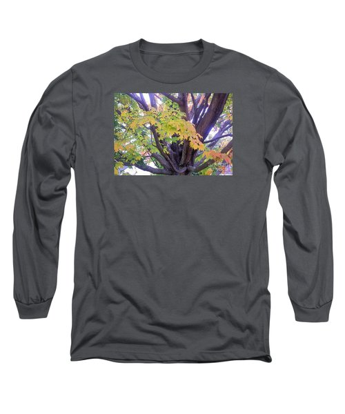 Indian Tree Long Sleeve T-Shirt by Kristine Nora