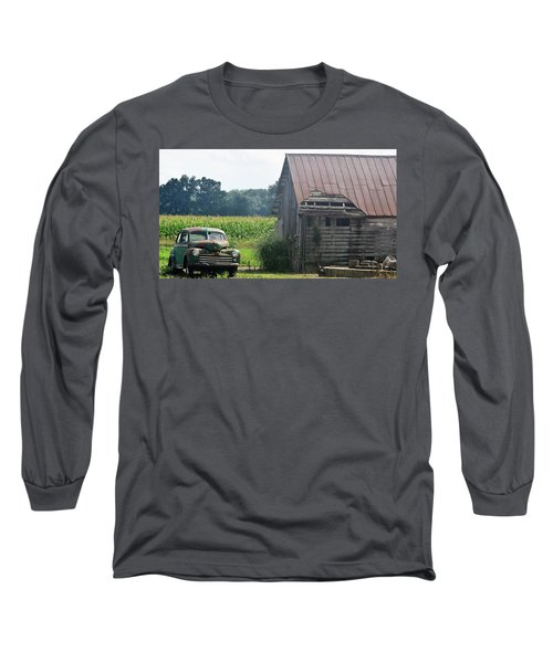 Indiana Back Road Common Denominator Long Sleeve T-Shirt by John Glass