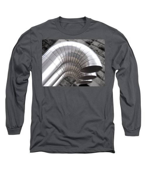 Industrial Air Ducts Long Sleeve T-Shirt