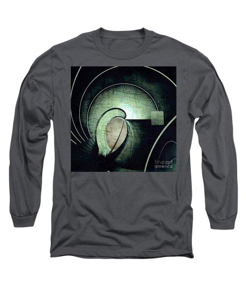 Industrial Arch Grey Long Sleeve T-Shirt
