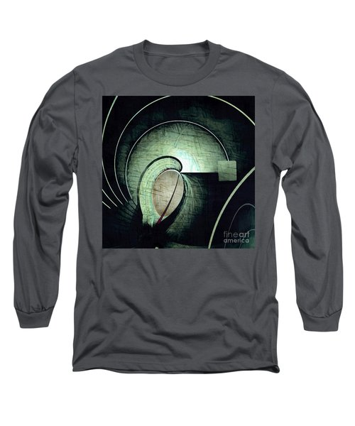 Industrial Arch Grey Long Sleeve T-Shirt