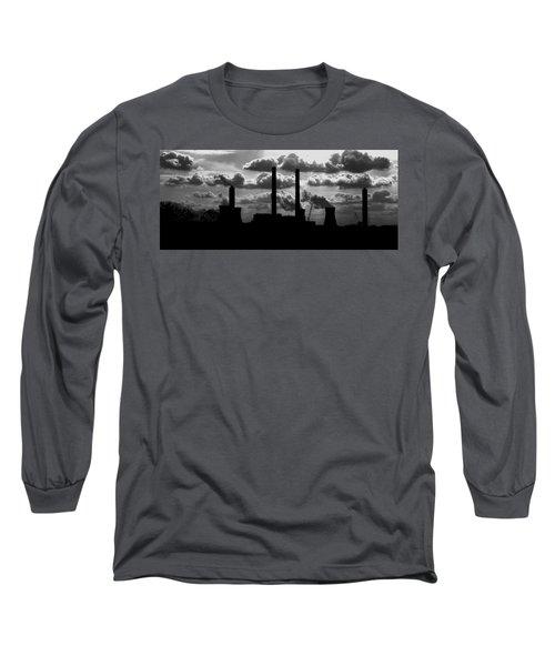 Industrial Night Long Sleeve T-Shirt