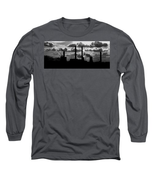 Industrial Night Long Sleeve T-Shirt
