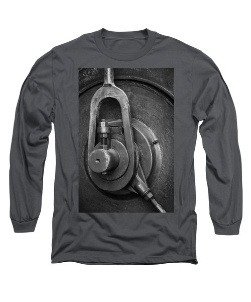 Industrial Detail Long Sleeve T-Shirt by Carlos Caetano