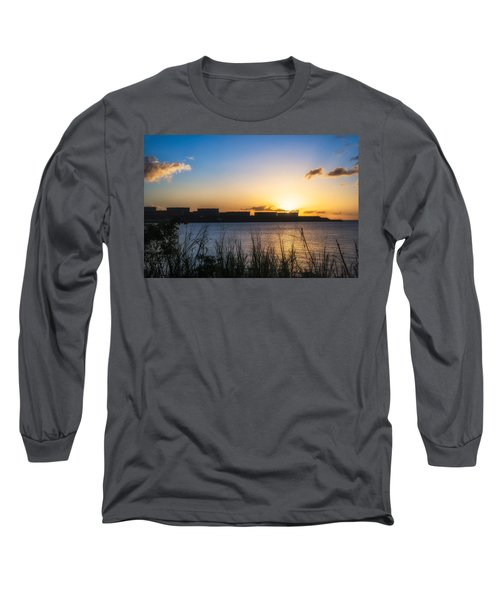 Industrial Sunset Long Sleeve T-Shirt