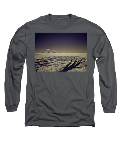 Infrared Landscape Lancaster Pa Long Sleeve T-Shirt