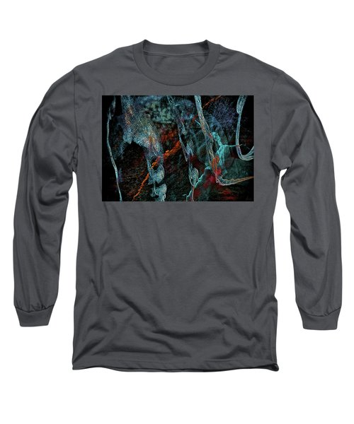 Inhabited Space Long Sleeve T-Shirt by Alex Galkin