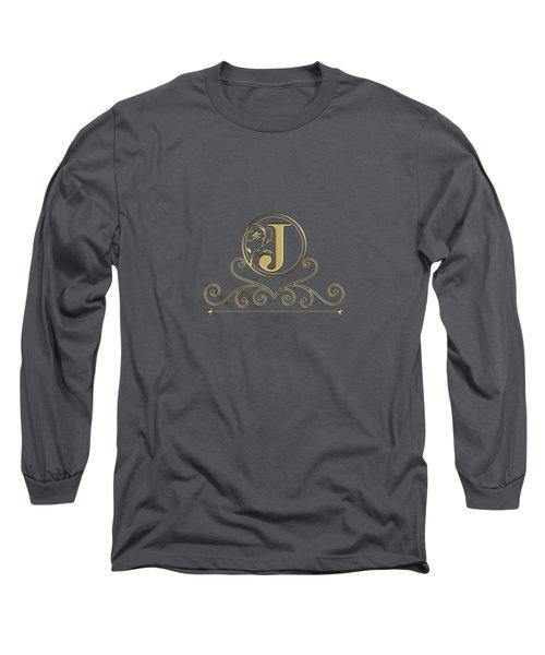 Initial J Long Sleeve T-Shirt