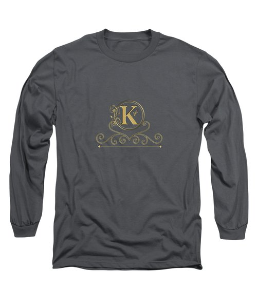Initial K Long Sleeve T-Shirt