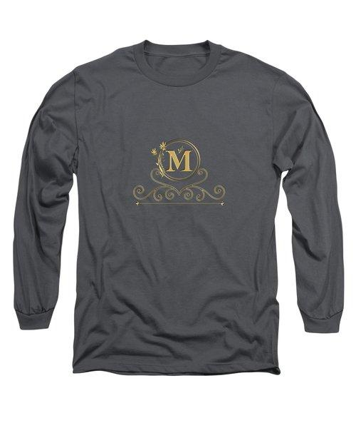 Initial M Long Sleeve T-Shirt