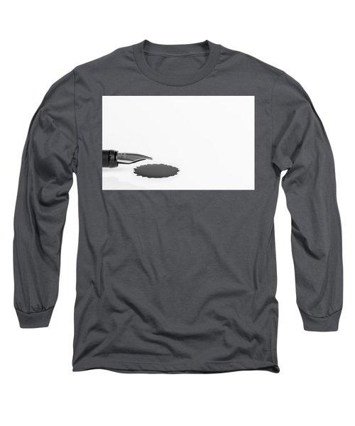 Ink Blot. Long Sleeve T-Shirt