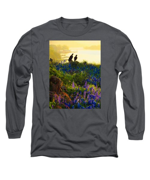 Da228 Inks Lake Love Daniel Adams Long Sleeve T-Shirt