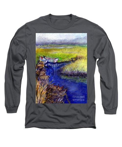 John Boat Creek Long Sleeve T-Shirt