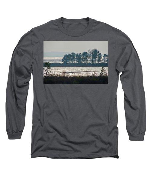 Inlet On Lake Michigan Long Sleeve T-Shirt