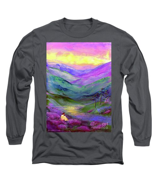 Inner Flame, Meditation Long Sleeve T-Shirt