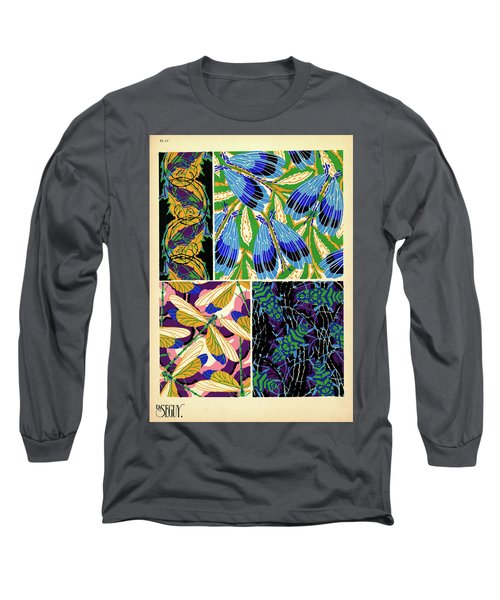 Insects, Plate-17 Long Sleeve T-Shirt