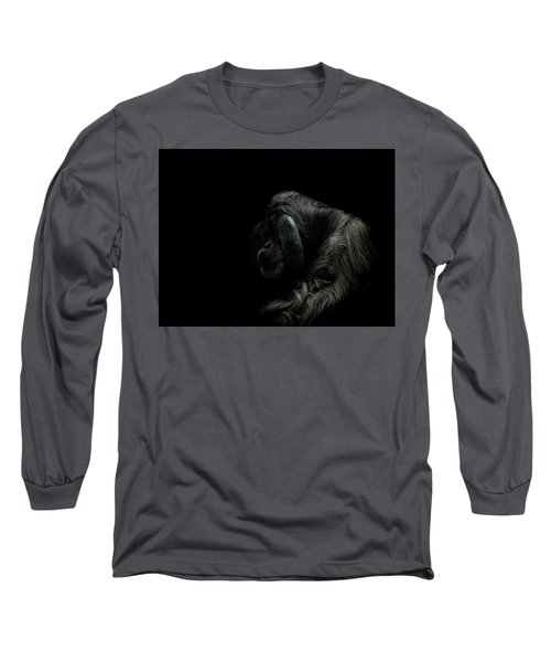 Insecurity Long Sleeve T-Shirt by Paul Neville