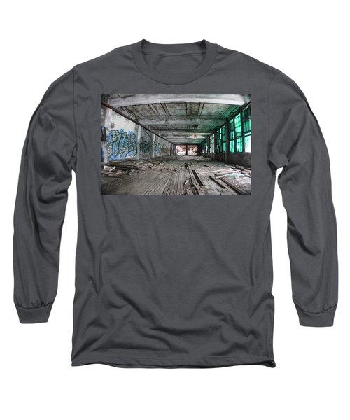 Inside Detroit Packard Plant  Long Sleeve T-Shirt