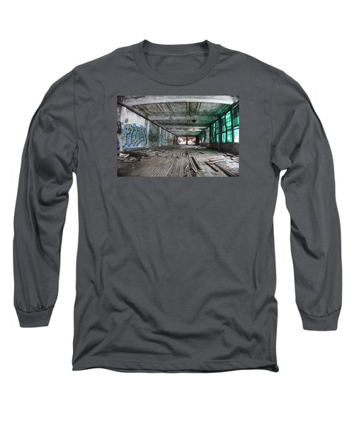 Inside Detroit Packard Plant  Long Sleeve T-Shirt
