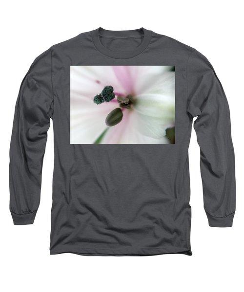Inside Macro Tulip  Long Sleeve T-Shirt