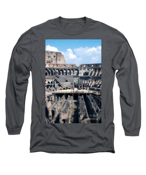 Inside The Colosseum Long Sleeve T-Shirt