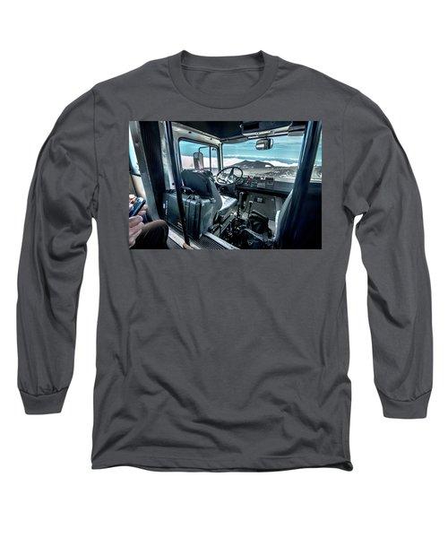 Inside The Etna Tour Unimog Long Sleeve T-Shirt