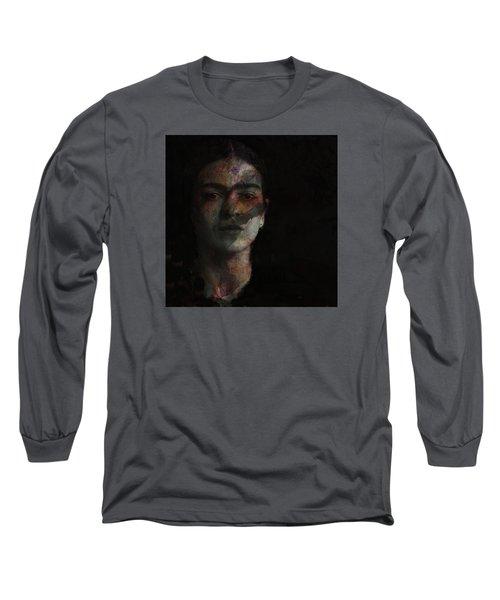Inspiration Frida Kahlo  Long Sleeve T-Shirt by Paul Lovering
