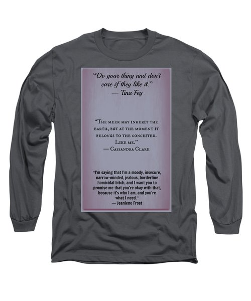 Inspire44 Long Sleeve T-Shirt by David Norman