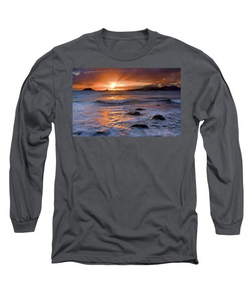 Inspired Light Long Sleeve T-Shirt by Mike  Dawson