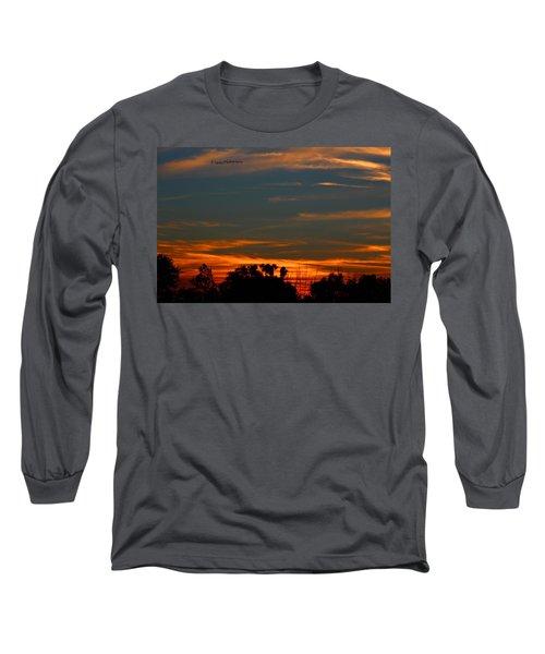 Intense Sky Long Sleeve T-Shirt