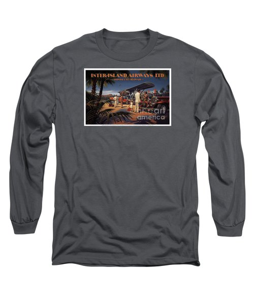Inter Island Airways-honolulu Hawaii Long Sleeve T-Shirt