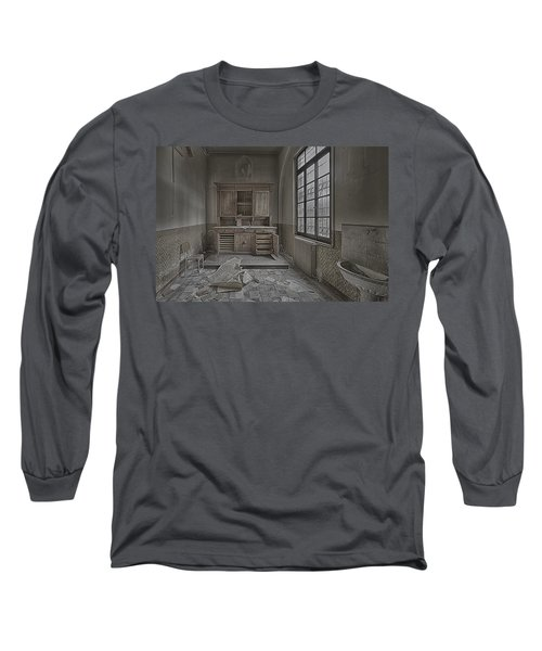 Interior Furniture Atmosphere Of Abandoned Places Dig Photo Long Sleeve T-Shirt