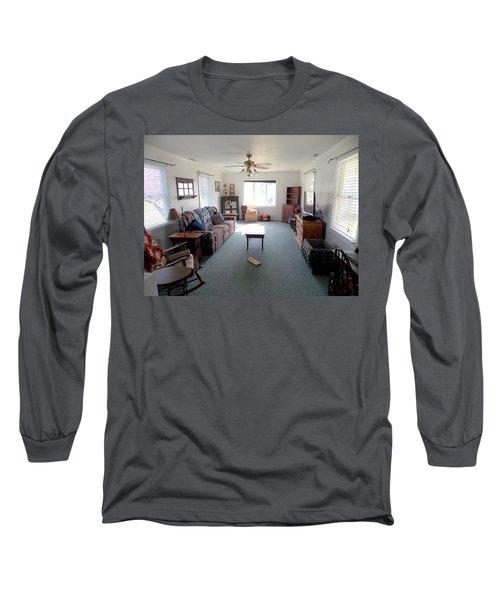 Interior Living Room Long Sleeve T-Shirt