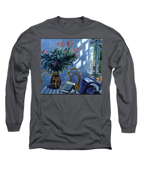 Interior With Flowers Long Sleeve T-Shirt