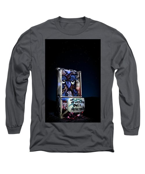 Long Sleeve T-Shirt featuring the photograph International Car Forest Of The Last Church 3 by James Sage