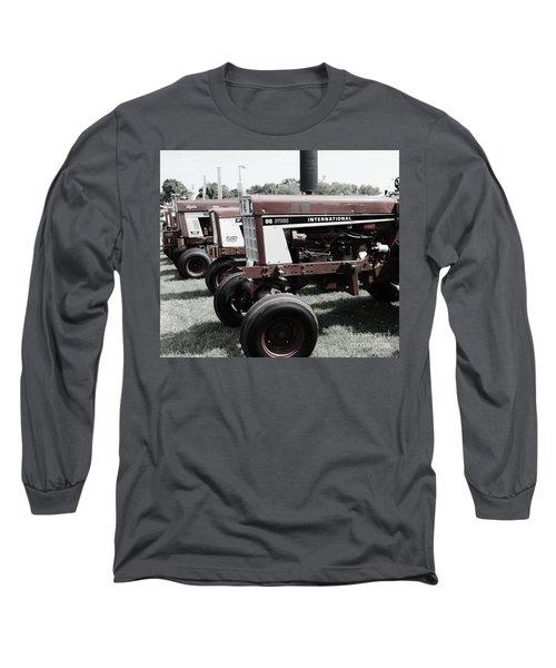 International Line Up Long Sleeve T-Shirt by Meagan  Visser
