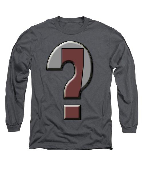 Interrobang 4 Long Sleeve T-Shirt by Brian Wallace