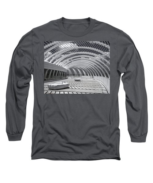 Intersecting Lines Long Sleeve T-Shirt