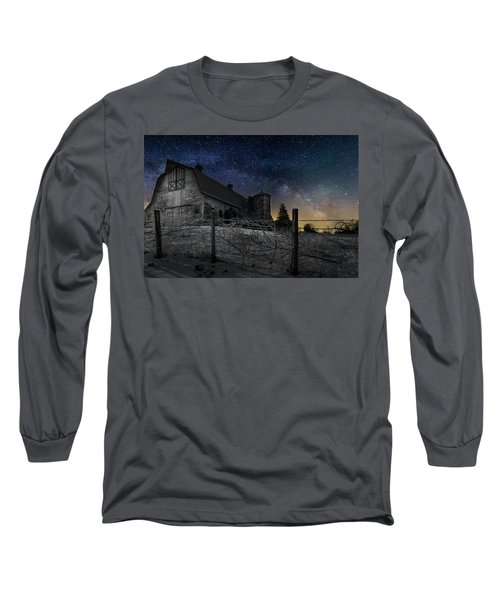 Long Sleeve T-Shirt featuring the photograph Interstellar Farm by Bill Wakeley